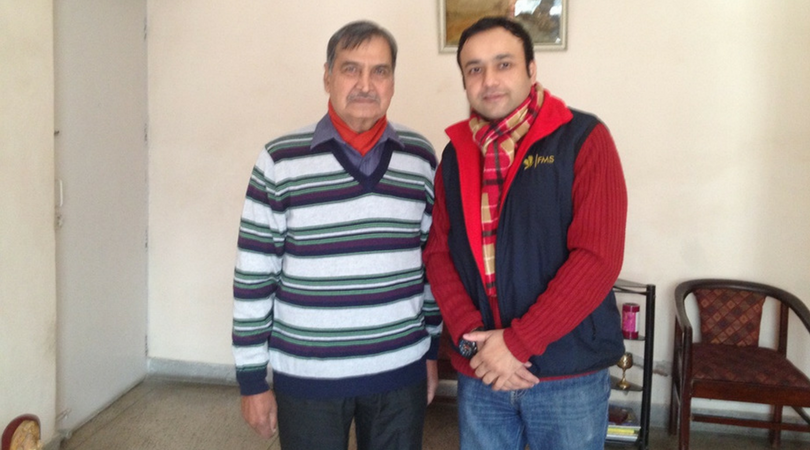 Honored To Meet Mr. Ghosh