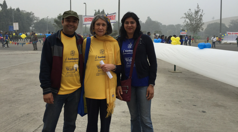 CanSupport Organizes Walk For Life For Cancer Survivors