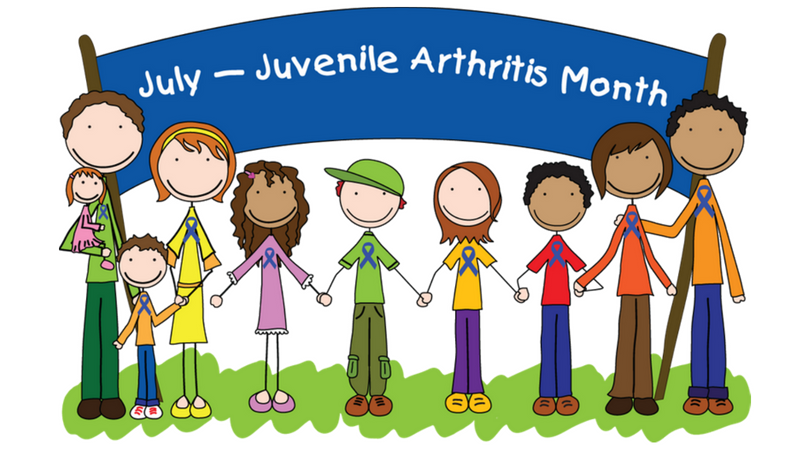 July is Juvenile Arthritis Awareness Month!!