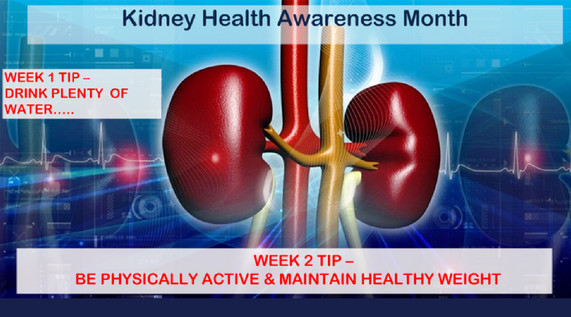 Week 2 KCA Tip: Be Physically Active and Maintain Healthy Weight