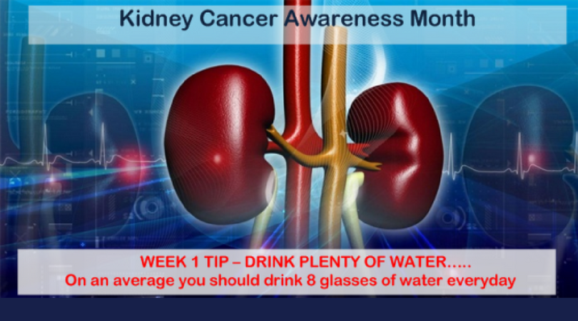 Week 1 KCA Tip: Drink Plenty of Water